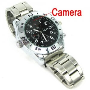 4GB 5.0MP Spy Camera Watches Support M-JPEG with Nand Flash